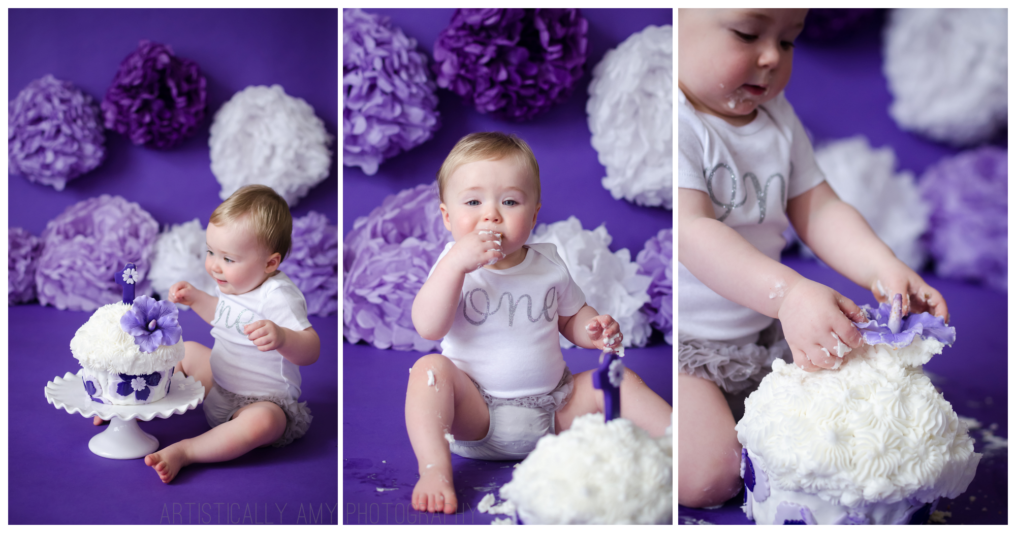 Poughkeepsie Cake Smash Photos